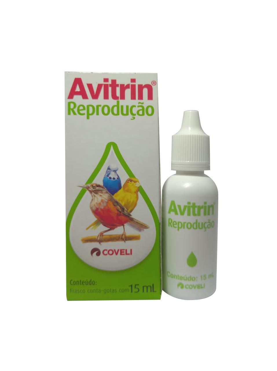 Avitrin Reprodução 15ml Aves Suplemento Vitamínico Coveli