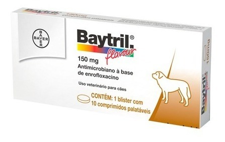 Baytril Flavour 150 Mg - Antimicrobiano - Bayer