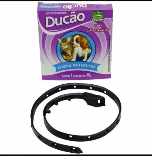 Coleira Anti-pulga e carrapatos Ducão Oriente Para Cães E Gatos