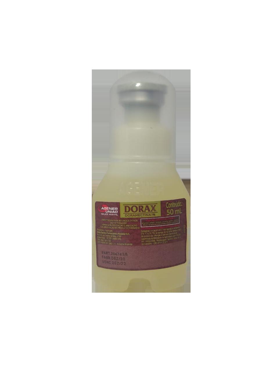 Dorax - Doramectina 1% - 50ml - Agener