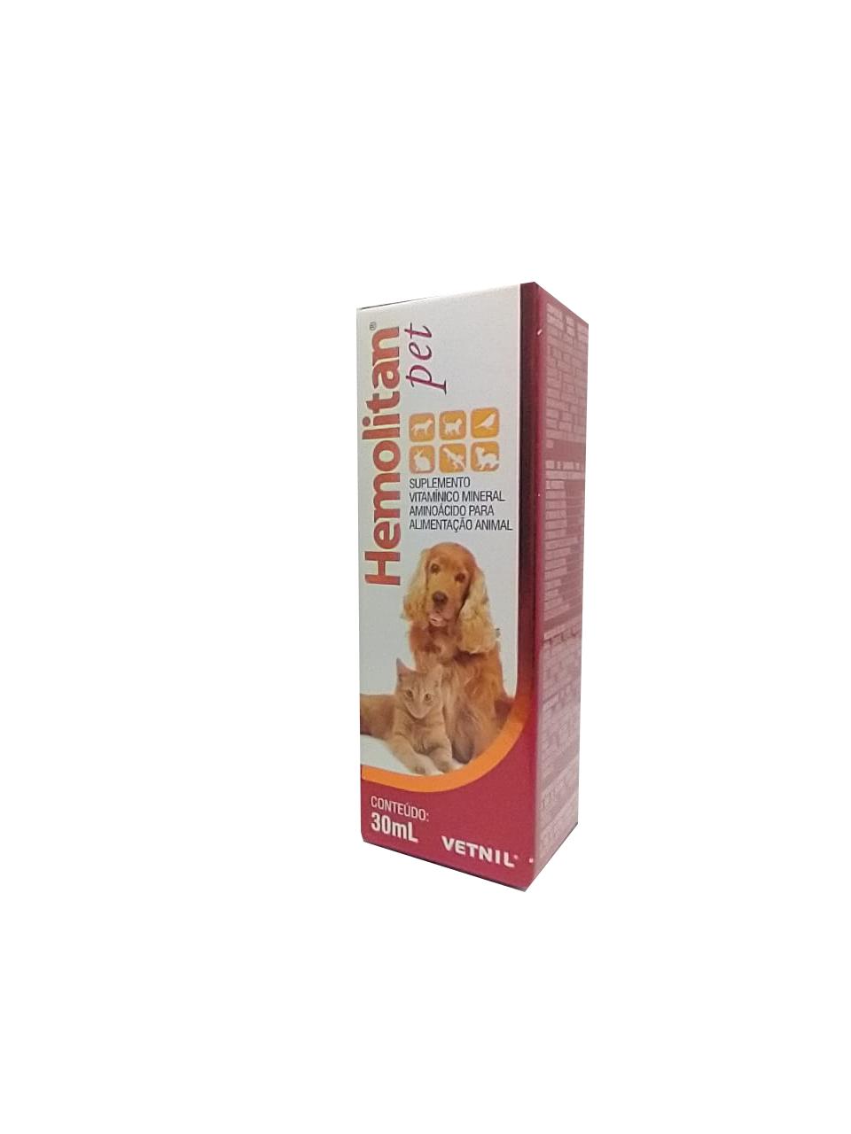 Hemolitan Pet Suplemento Vetnil  30ml