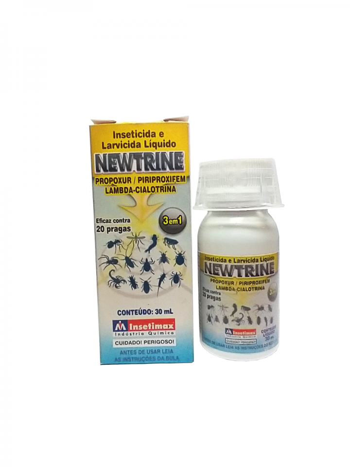 NEWTRINE INSETICIDA MICROENCAPSULADO 30ML - COMBATE 20 PRAGAS