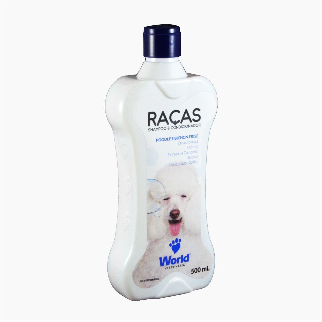 Shampoo Raças: Poodle e Bichon Frisé