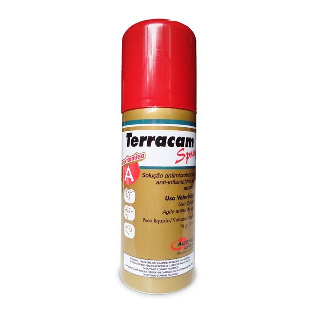 TERRACAM SPRAY X 125 ML