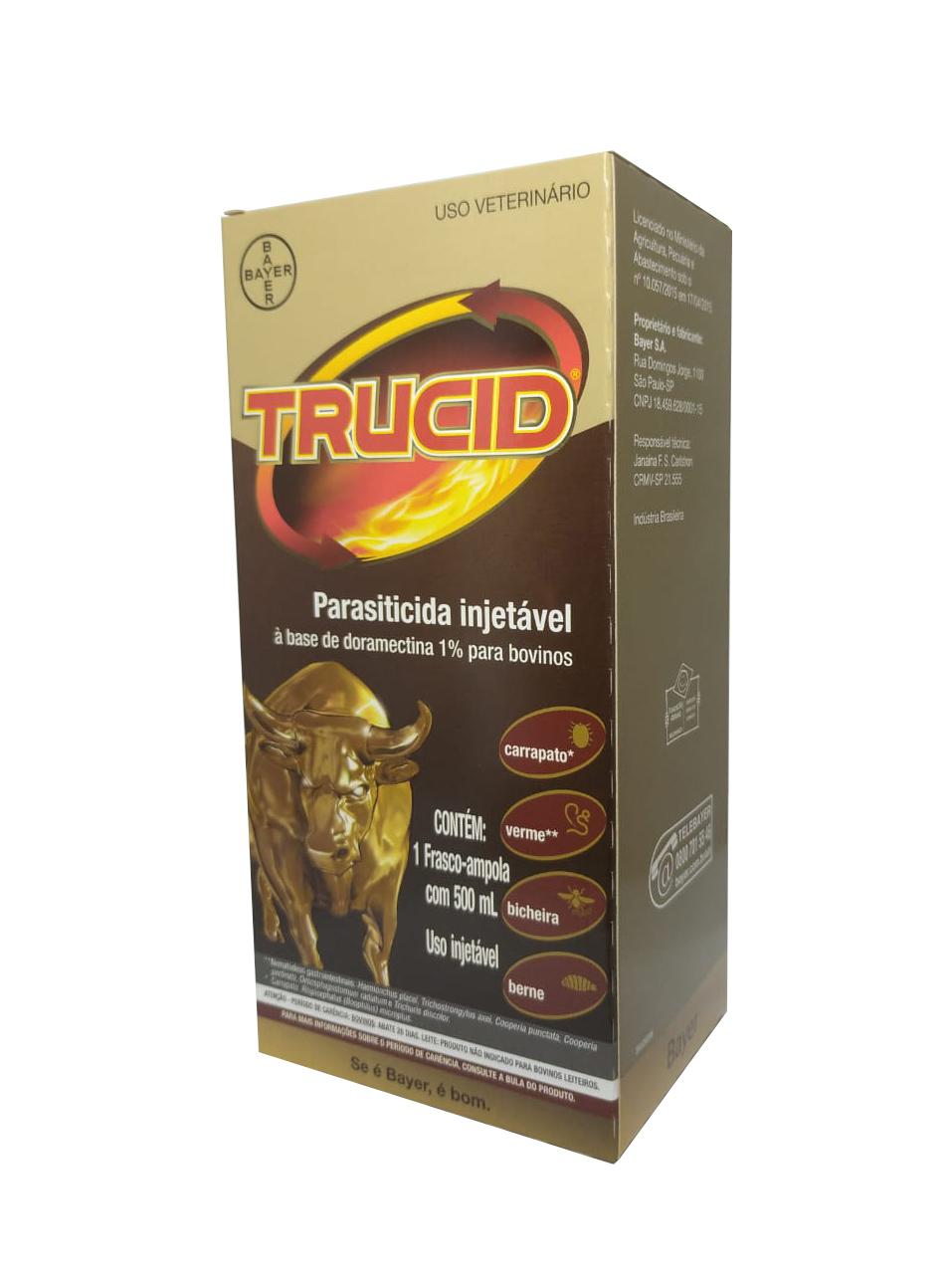 Trucid - Doramectina 1% 500 ml - Bayer