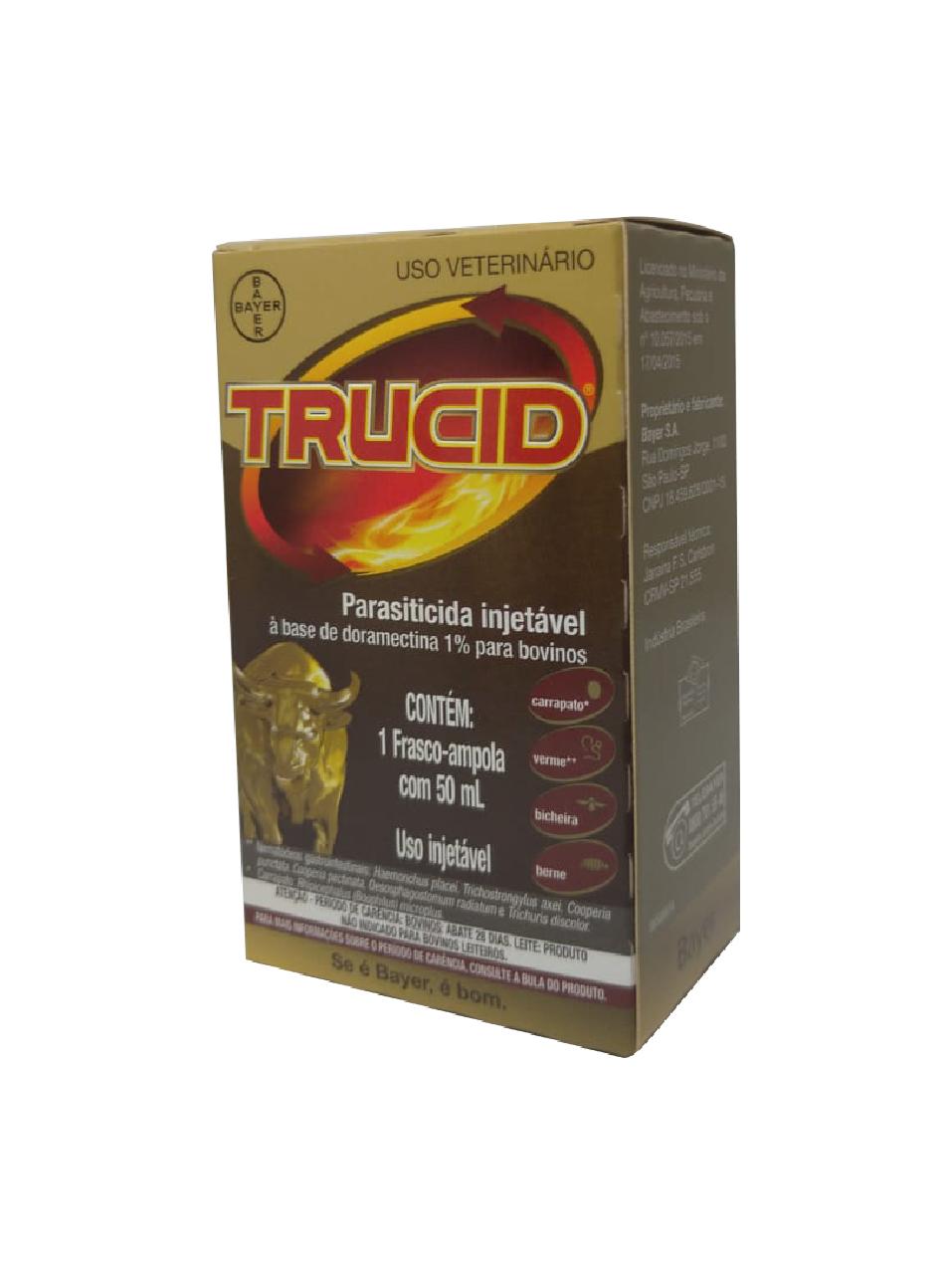 Trucid - Doramectina 1% - 50 ml