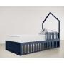 Cama Montessori 4 em 1 - Azul Naval