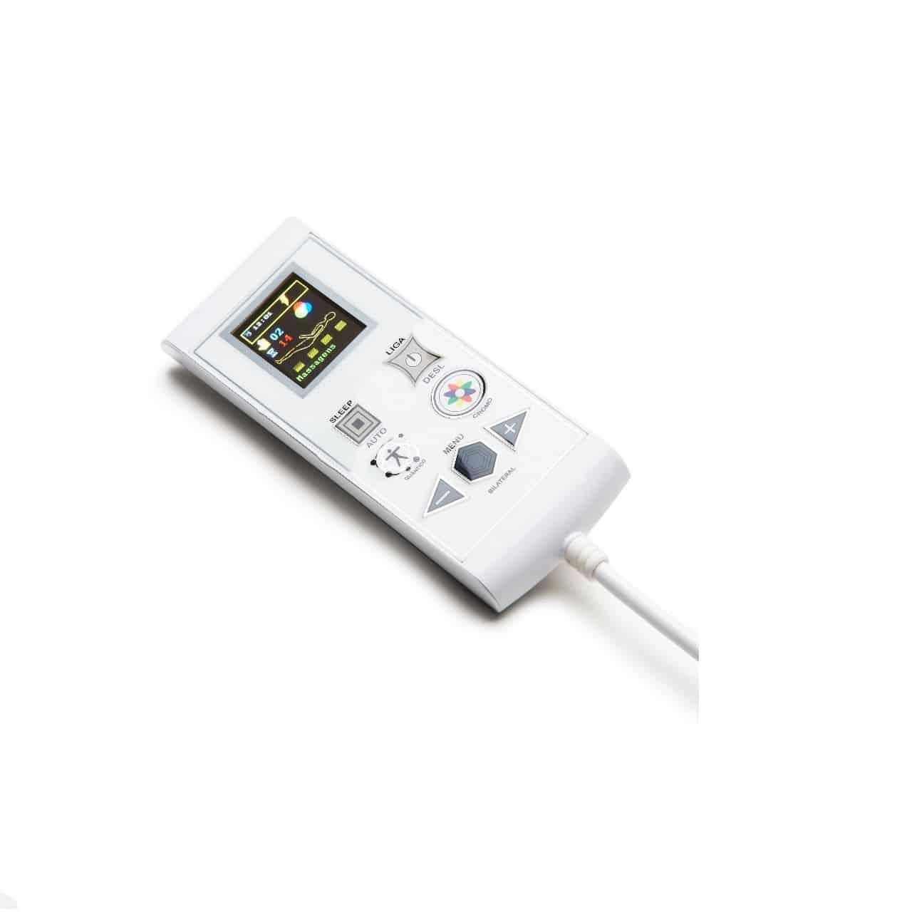Cama Box Baú + Colchão Magnético King Massageador Bioquântico Cromoterapia (Tamanho 1,93 X 2,03)