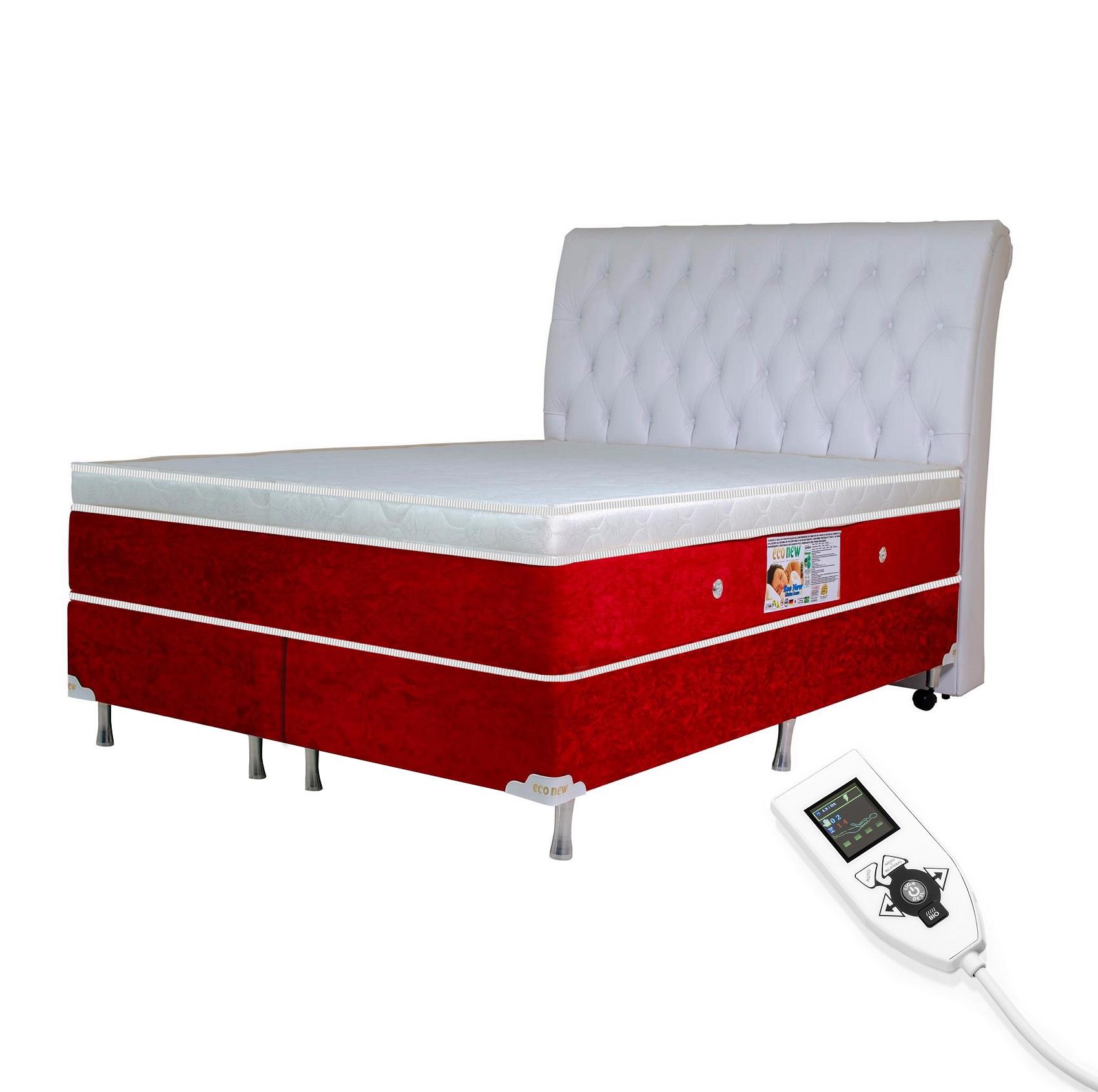 Colchão Magnético King Infravermelho Massageador Bioquântico (Tamanho 1,93 X 2,03)