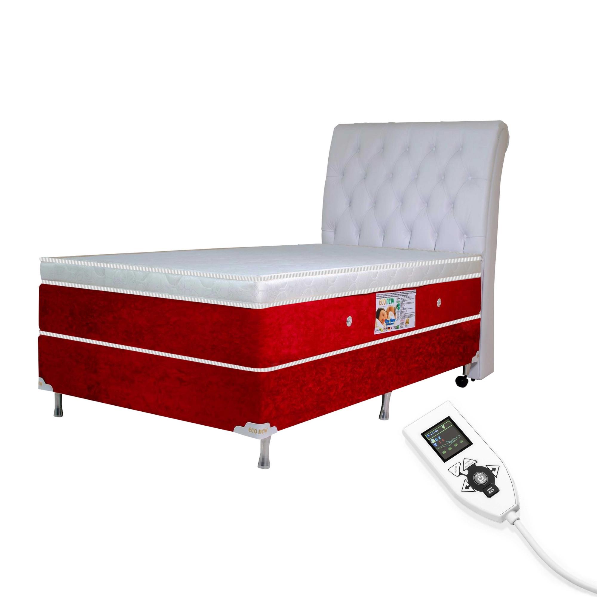 Colchão Magnético Solteiro Infravermelho Massageador Bioquântico (Tamanho 0,88 X 1,88)