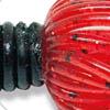 Black Red Flake + Red Black Flake