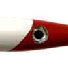 Branca com cabeça Vermelha Plug