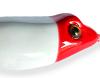 Branca com cabeça Vermelha