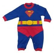 Macacão superman com capa