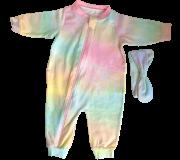 Macacão Tye Dye com laço