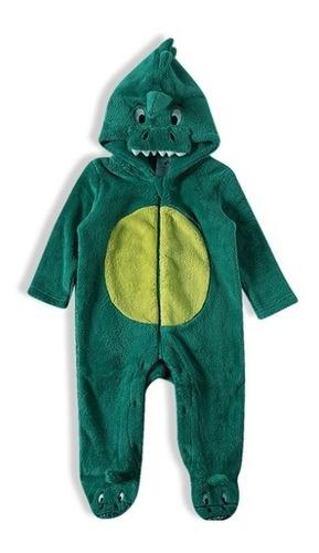 Macacão Dino Verde Tip Top