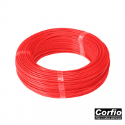 Fio Flexivel Corfio Vermelho 2,5mm (RL 100Mts)