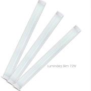 Luminária Led Slim 6500K 72W