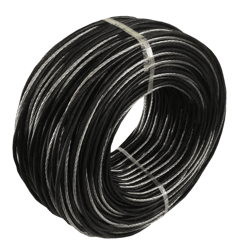 Cabo Alumínio Duplex 10mm  (1 Fase + 1 Neutro) (Metro)