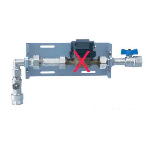 KIT CAESB IVM Metal Universal P/caixa 1 Hidrômetro