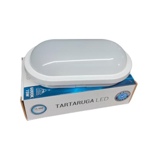Luminária Tartaruga de LED 15W 6000K Bivolt