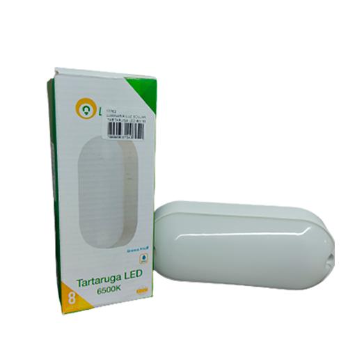 Luminária Tartaruga de LED 8W 6500K Bivolt