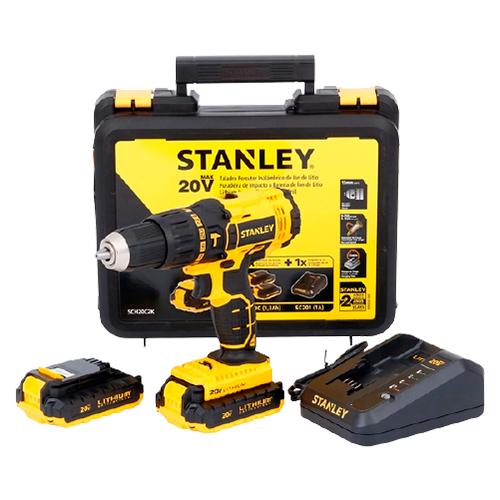 """Paraf/ Furad Stanley  SCD 20 1/2"""" 20V 45NM 2 Baterias"""
