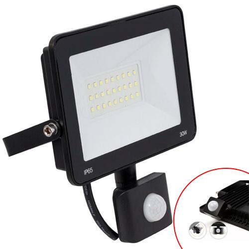 Refletor LED Slim Com Sensor de Presença 6500K