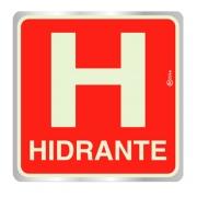 Placa de Abrigo de Hidrante de Incêndio - E8