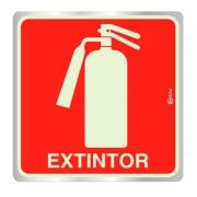 Placa Extintor de Incêndio  – E5