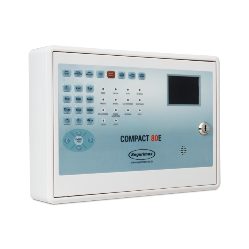 Central de Alarme de Incêndio Compact 80E