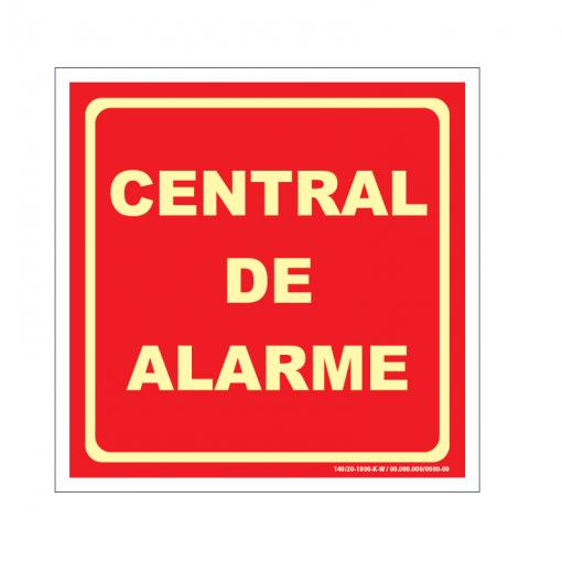Placa de Central de Alarme - CA