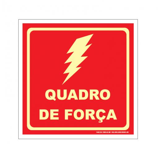 Placa de Quadro de Força - QF