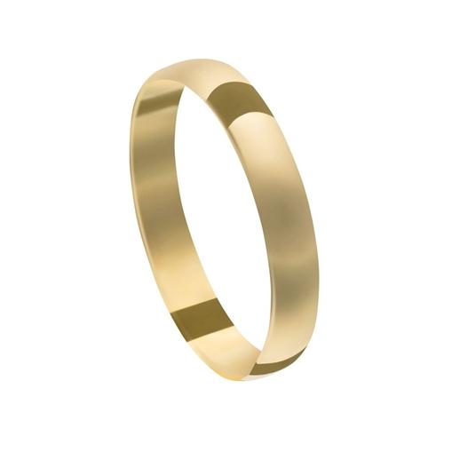 Aliança Casamento Ouro 18k Tradicional Unidade 4,00mm x 0,50mm