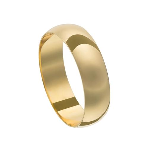 Aliança Casamento Ouro 18k Unidade 5,00mm X 1,00mm 115210003-86
