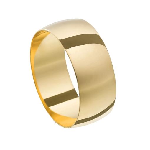 Aliança Casamento Ouro 18k Tradicional Unidade 6,50mm x0,70mm