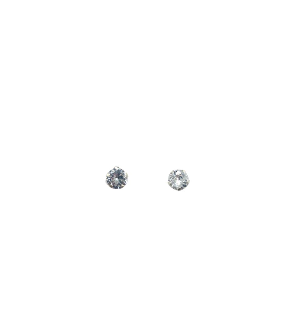 Brinco Prata Ponto de Luz 5,0mm BR21070