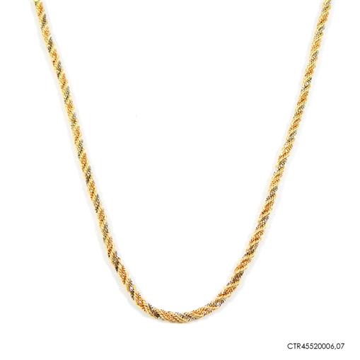 Corrente Cordão Baiano Ouro 18K 3 Ouros