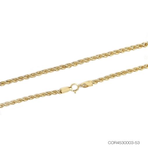 Corrente Cordão Baiano Ouro 18k  45cm