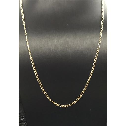 Corrente de Ouro 18k 3x1 60cm