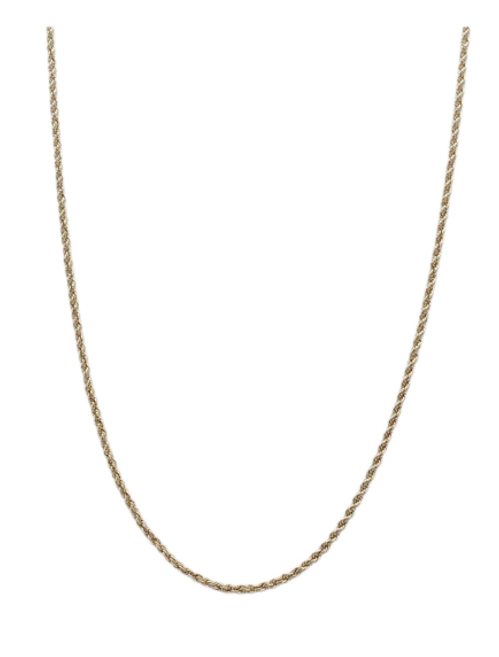 Corrente De Ouro 18k Cordão Baiano COR5032004-15