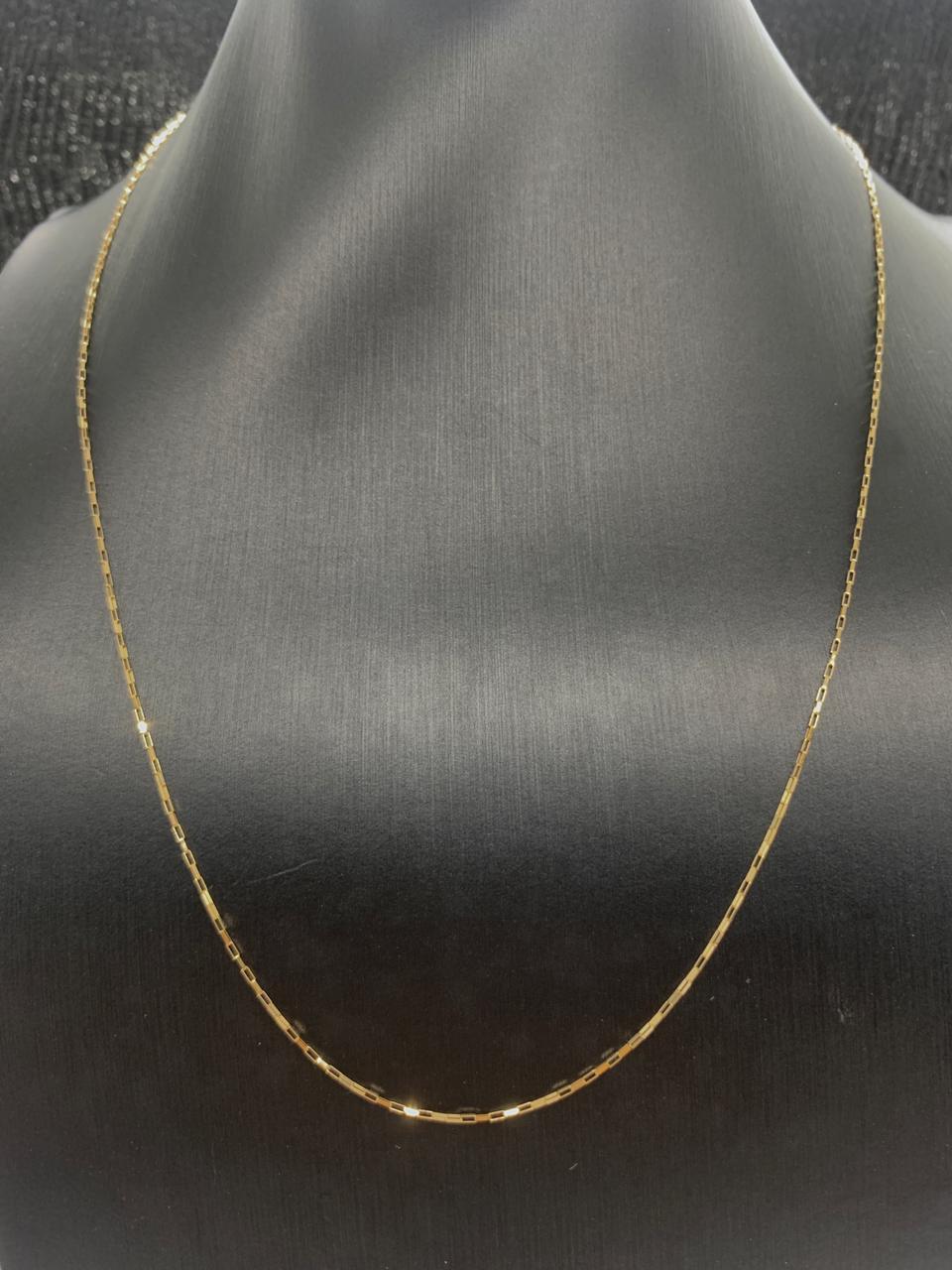 Corrente Ouro 18k 50cm