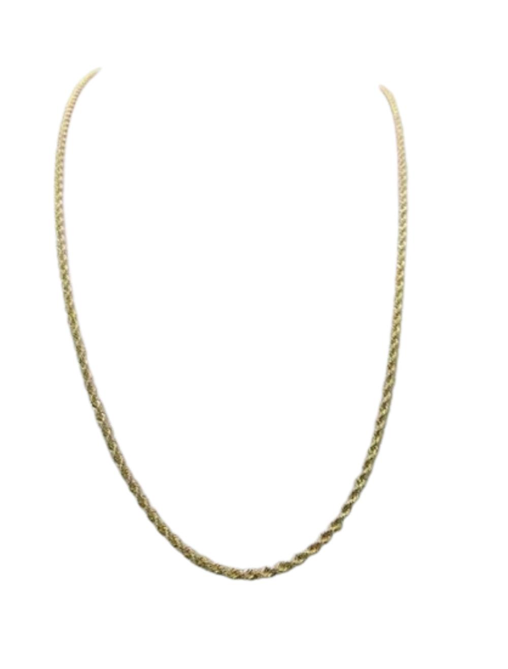 Corrente Ouro 18k Cordão Baiano 60cm