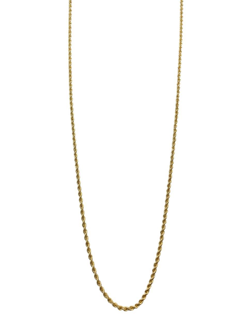 Corrente Ouro 18k Pipoca CP120003-68