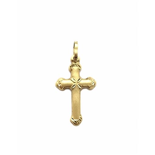 Pingente de Cruz Ouro 18k
