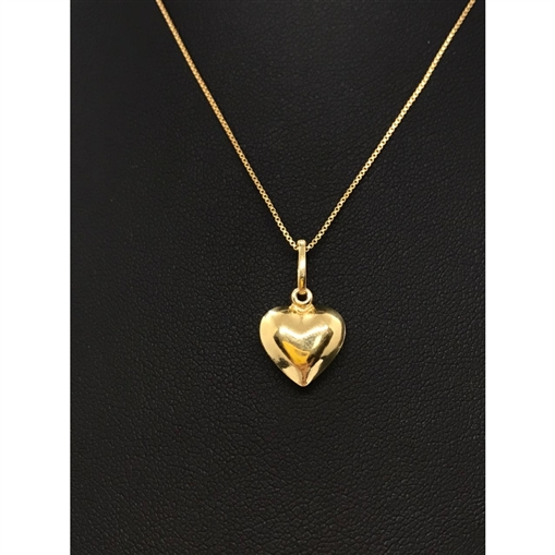 Pingente de Ouro 18k Coração
