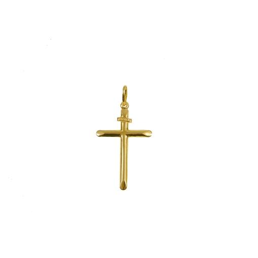 Pingente de Ouro 18k Cruz Inri DS028M000-99