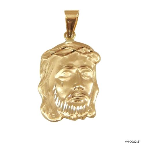 Pingente Face de Cristo Ouro 18k