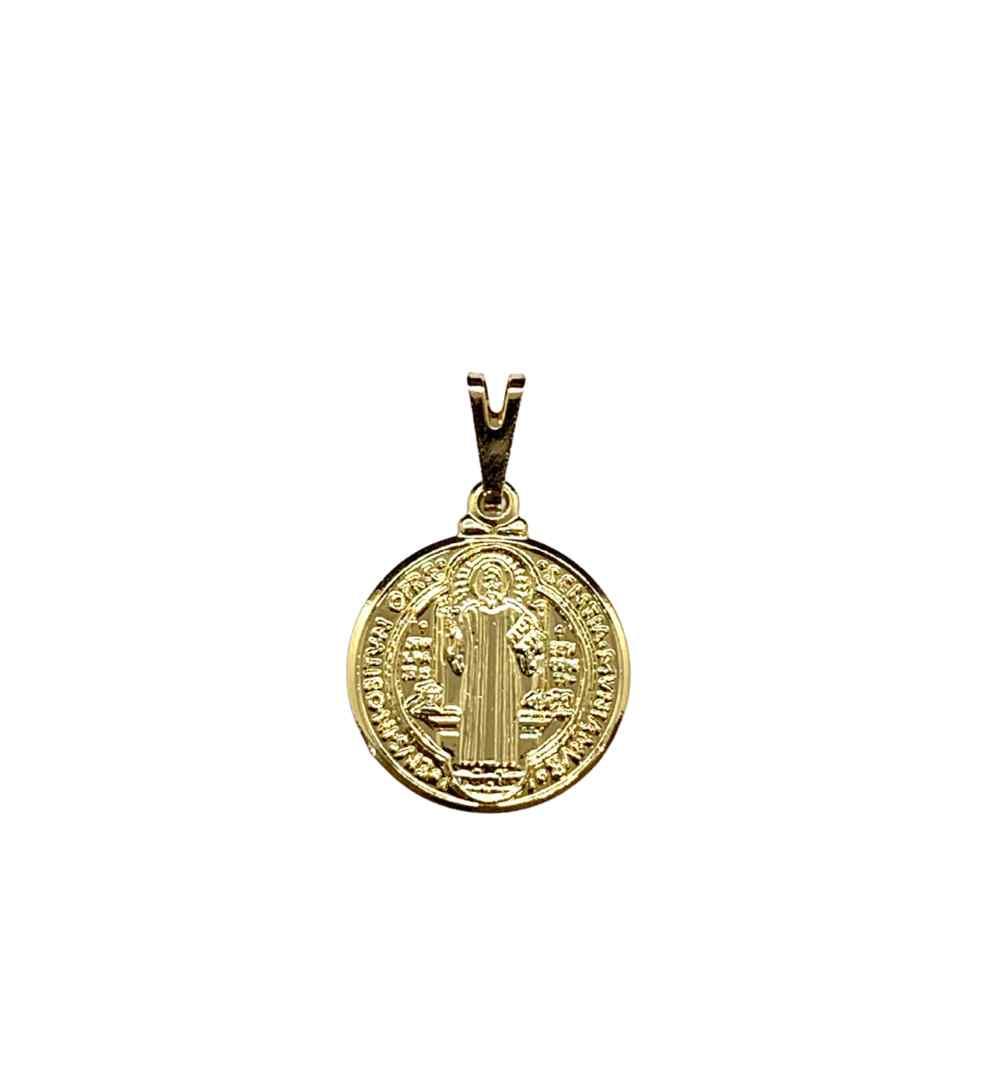 Pingente Medalha De São Bento Jjoias Premium