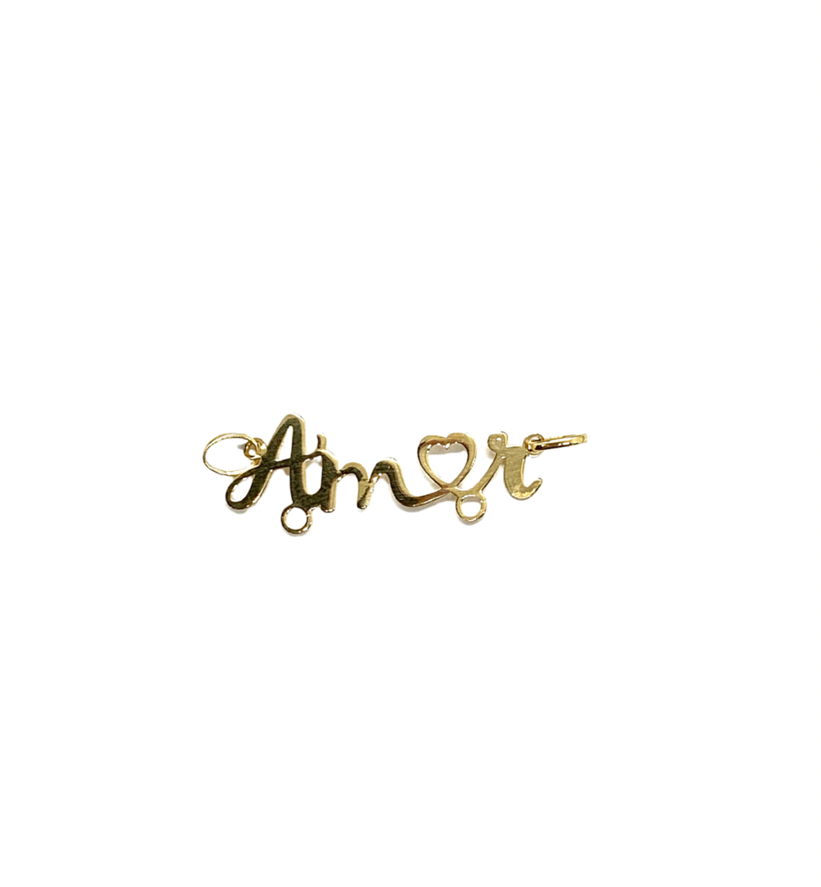 Pingente Ouro 18k Canga Amor Jjoias Premium